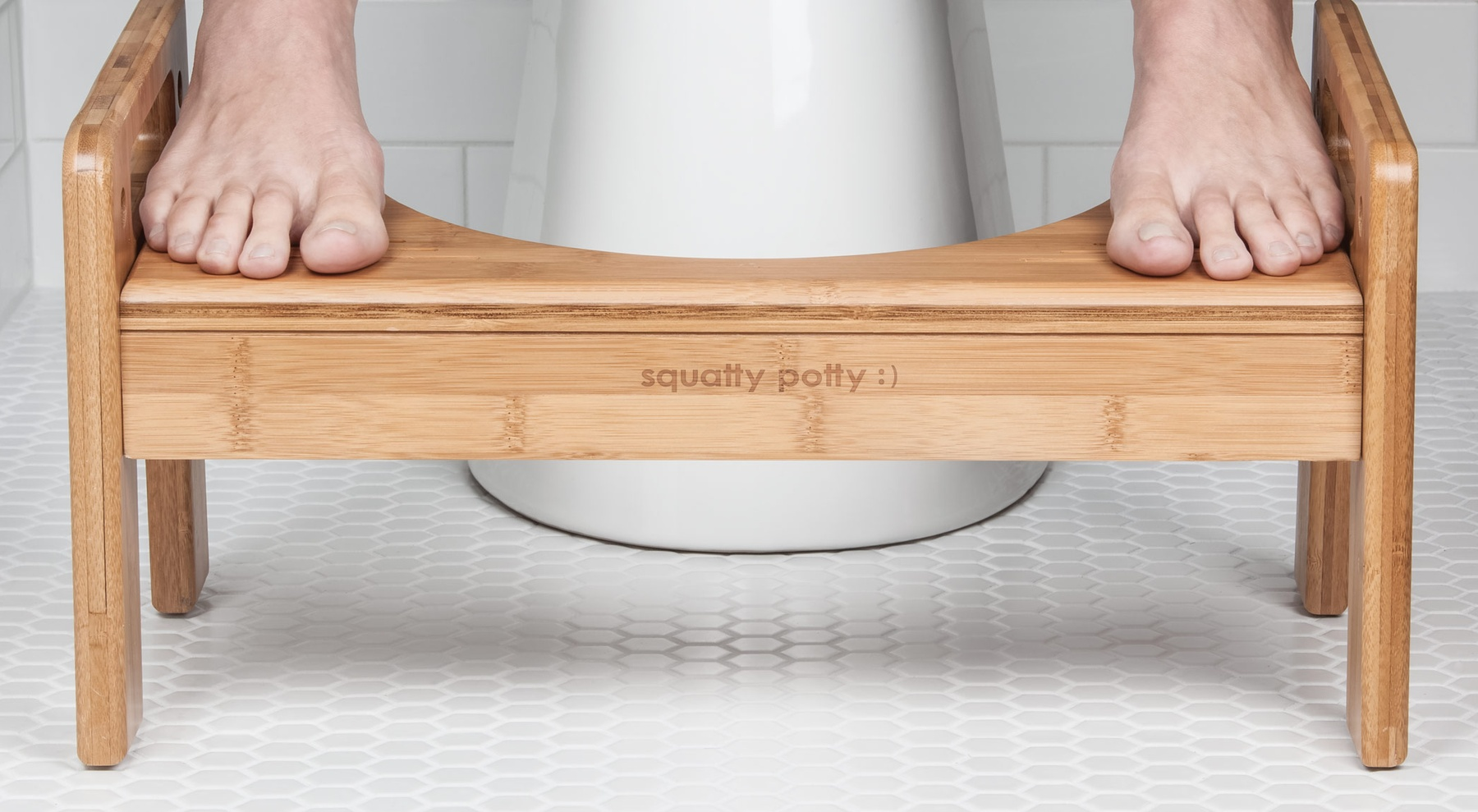 Adjustable Tao Bamboo Squatty Potty
